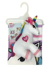 NEW, 2 PIECE JOJO SIWA BATH TOWEL & WASHABLE UNICORN SCRUBBY