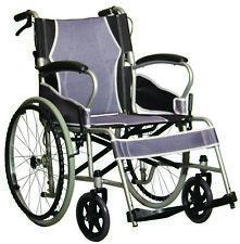 ANTAR ultraleicht Rollstuhl faltbar Reiserollstuhl SB46cm Begleiterbremse *NEU*