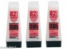 3 x ORIGINAL Source Vanille LAIT & Framboise Gel Douche 250Ml Naturel parfum
