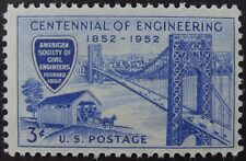 Stamps US 3c Society of Civil Engineers, Cat. #1012 Mint NH/OG
