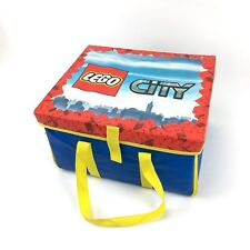LEGO CITY Play Mat Storage Bin Carrying Case Storage Box
