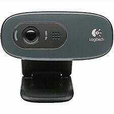 Logitech C270 HD 720p USB Cámara Web - Negra (960-001063)