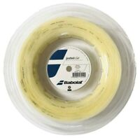 BABOLAT SYNTHETIC GUT TENNIS STRING - 1.25MM 17G - 200M REEL - NATURAL - RRP £90