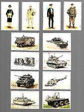 CIGARETTE/TRADE/CARDS.British.Army Magazine.THE BRITISH ARMY.(1993).Full Set 24.