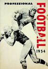 Vtg. 1954 AMOCO Americas Gas PRofessional Football Guide Advertising Booklet