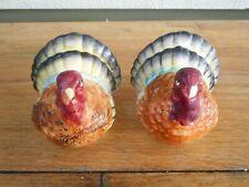 Vintage Japan ? Turkey Gobbler Thanksgiving Salt & Pepper Shakers