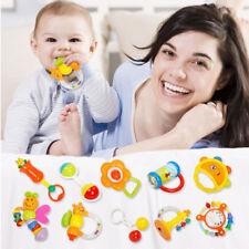 10tlg/Set Baby Spielzeug Motorik Rasseln Greiflinge Rassel Babyrassel