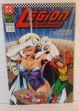 LEGION OF SUPERHEROES ANNUAL #1 1990 VF.NM
