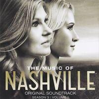 The Music of Nashville, Season 3, Volume 1 - CD Album Damaged Case