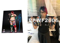 WWE ASUKA HAND SIGNED AUTOGRAPHED 8X10 PHOTOFILE PHOTO WITH PICTURE PROOF COA 1