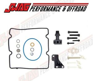 Swag STC HPOP Fitting Upgrade Kit IPR Screen for Ford 6.0L Powerstroke Diesel