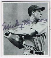 Original Autograph PSA/DNA of Mickey Vernon of the Washington Senators, 1947B