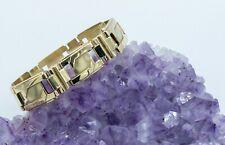 14kt Gold Fancy Link Bracelet - 26.32 grams of gold - for wear or scrap