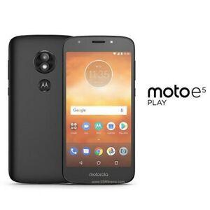 "Motorola Moto E5 Play XT1920-15 Unlocked Smartphone 5.2"" 8MP 16GB"