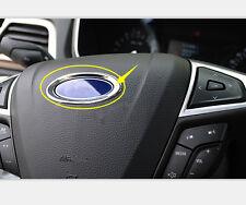 Car Inner Steering Wheel For Ford Logo Cover Frame Trim For Ford Fusion 2013-15
