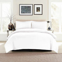 1800 Series Duvet Cover Egyptian Hotel Luxury, Soft King - 3 Piece Set In White!