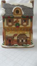 Lefton Colonial Christmas Village 01001 THE BROWN'S BOOK SHOP 1993 C2