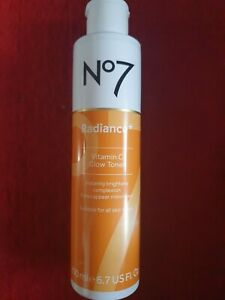 NO7 RADIANCE vitamin C ,Glow Toner ,200ml.For all skin types