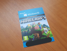 Minecraft Bedrock Edition / W10 (PC) Card-scan only; MS Store