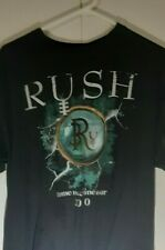 New listing Vintage Rush Time Machine Tour 2010 T-Shirt L large Size Rock Peart Geddy Lee
