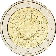 EUR, Grèce, 2 Euro 10 ans de l'Euro 2012 #84983