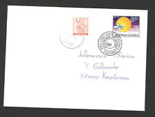 MONTENEGRO-MNH-TRAVELED LETTER (FDC) WITH TAX STAMP-2002..