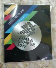 Malaysia 2017 KL17 Sukan Sea Games Royal Selangor Pewter Medallion Coin Medal