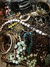 Mixed Jewelry Crafters Lot Mismatched Broken Crafts Repair ~ Over 15lbs ~ (Box1)