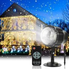 Austrobo Christmas Projector Light Outdoor Snowfall LED Projector Waterproof Rot