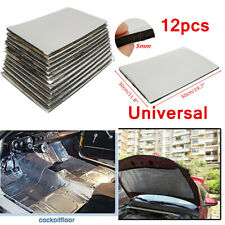 12pcs 5mm Universal Car Sound Deadening Mat Sound Deadener Material insulation