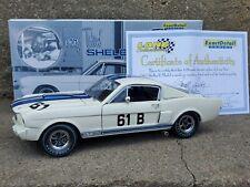 Lane Exact Detail 1965 Shelby GT 350 R-Model Jerry Titus 1:18 Diecast Race Car