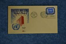 1951 First Issues N9 FDC - Kolor Kover Cahcet