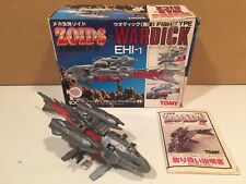 Tomy Zoids vintage Ojr Wardick Ehi-1 1/72 scale kit built complete with box
