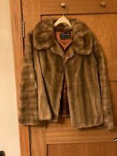 1960's faux mink short coat/jacket