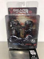 NECA Gears Of War 2 Markus Fenix vs Locust Drone Action Figure New Sealed
