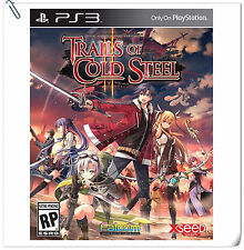 PS3 The Legend of Heroes Trails of Cold Steel II SONY RPG Games Xseed