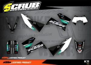 KTM Dekor SMC 625 640 660 2005 2006 2007 2008 '06 '07 '08 SCRUB LC4 Aufkleber