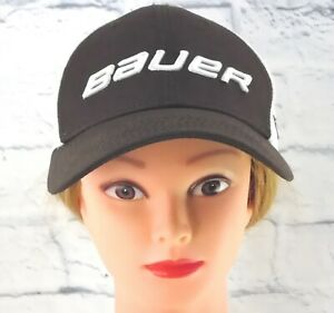 BAUER New Era 39THIRTY Shadow Tech Hat Stretch Fit Flex Back Cap Hat Med-Large