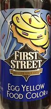 16oz First Street Food Color Egg Yellow