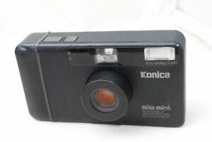 (6814) Konica Big Mini BM-301 Point and Shoot Film Camera Compact, EXC!! *READ*