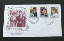 Niue-1981-The Wedding of Prince Charles and Lady Diana FDC-Alofi