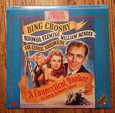 LD Laserdisc SEALED NEW  CONNECTICUT YANKEE IN KING ARTHURS COURT Bing Crosby