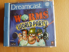 Worms World Party - Sega Dreamcast