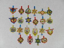 Lot of 22 Roy Rogers Series Post's Raisin Bran Badges