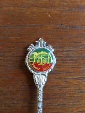 Vintage Franz Josef New Zealand Souvenir Spoon Stuart Brand  Silver Plated