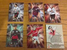 Futera Tarjetas De Fútbol: Manchester United Edición Limitada futuras estrellas conjunto de plata 6