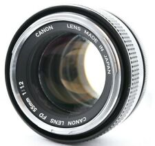Canon FD 55mm f/1.2 Lens for A-1 F-1 AE-1 etc Working Condition No. 30913