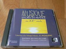 Poulenc : Litanies à la Vierge noire - Lemaire, Pays de Loire - CD 1996