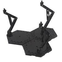Action Figure Dispaly Stand Base Bracket for 1/144 1/100 Gundam Model Black