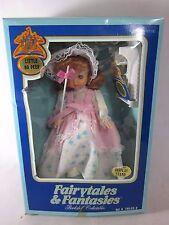 Vintage Fairytales & Fantasies Doll LITTLE BO PEEP Bookshelf Collectables Fishel